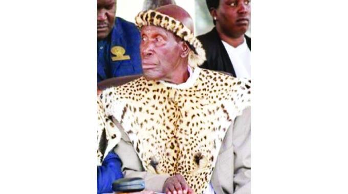 Chief Maduna laid to rest
