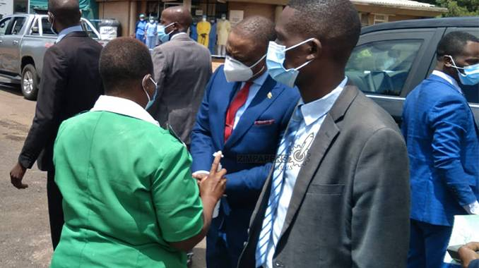 BREAKING: VP Chiwenga volunteers to lead vaccination