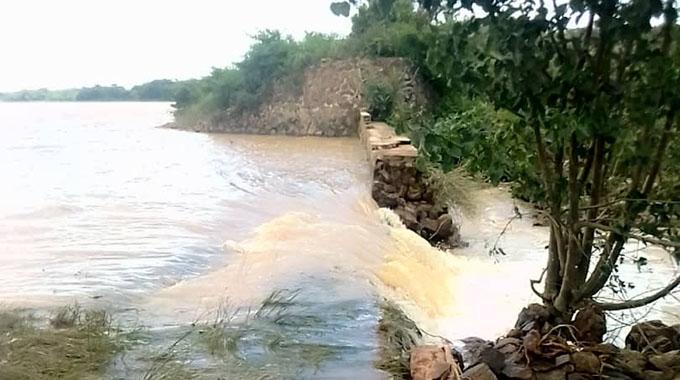 JUST IN: Three Chegutu dams burst walls