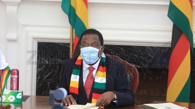 Vaccine is safe: President Mnangagwa
