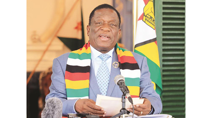 The worst is behind us, says President . . . as local supplies fill up supermarkets