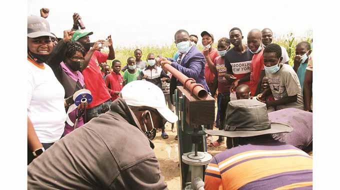 Eyestone residents get clean water