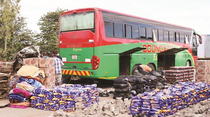 Blitz on smuggling nets 22 buses