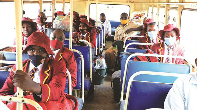 Last batch of learners returns to school
