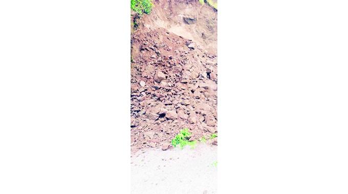 Landslides barricade communities
