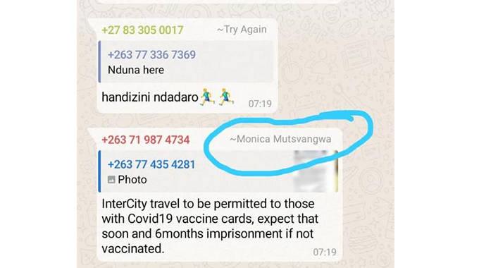 JUST IN: Fake news peddlers target Minister Mutsvangwa