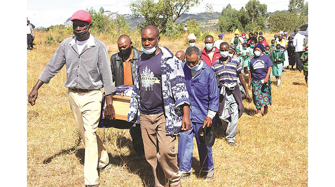 Commotion at burial of murdered Mutasa children