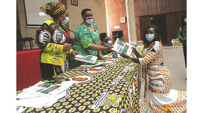 ZANU PF Women's League gets NDS1 handbooks