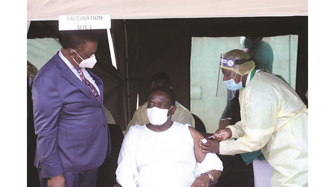 President gets second jab today