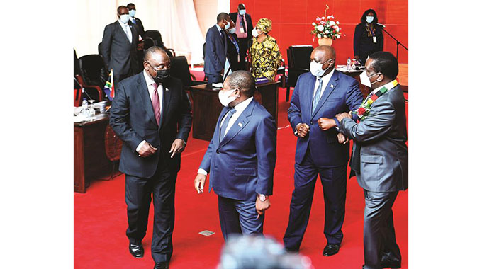 SADC Leaders