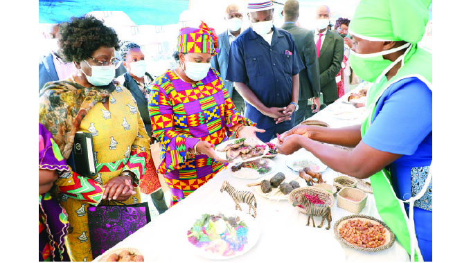 First Lady takes cook-out to Lupane