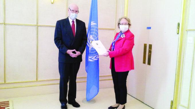 Comberbach starts UN mission