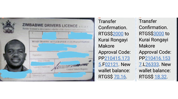 Fraudsters offer fake driving licences, take cash