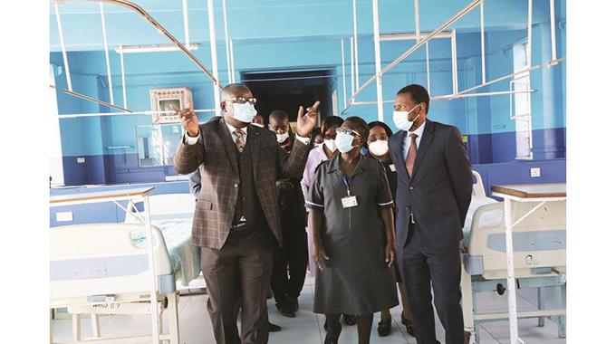 Sally Mugabe Hospital increases admissions