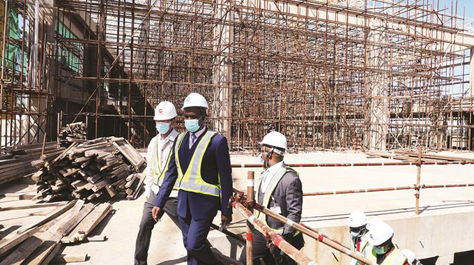 RGM Airport works on course