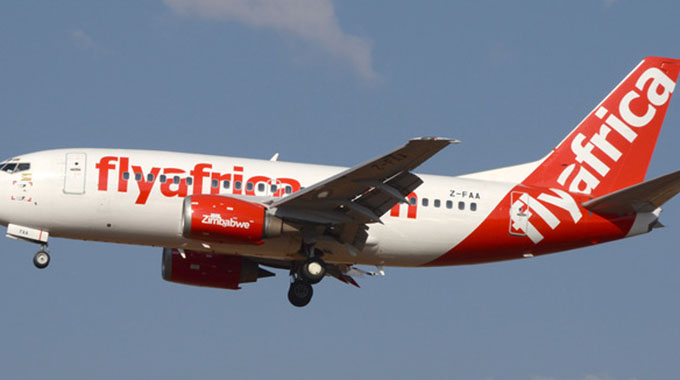 Fly Africa to resume flights next month