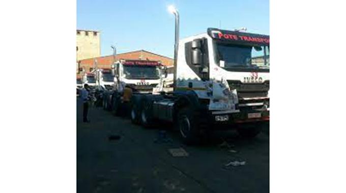 Businessman's 72-truck convoy causes a stir