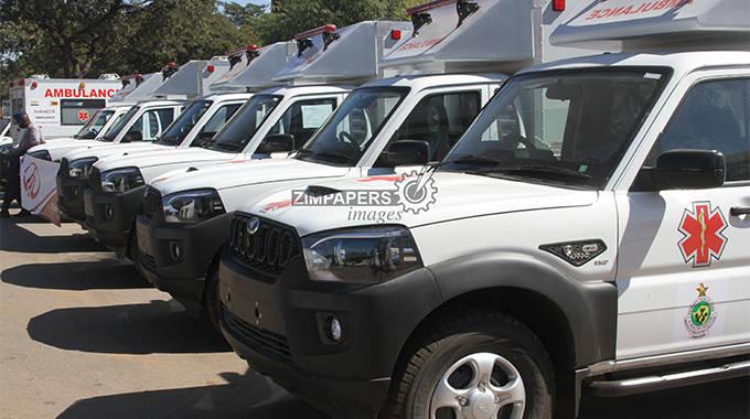 India, AfDB donate ambulances, ancillary medical equipment to Zimbabwe