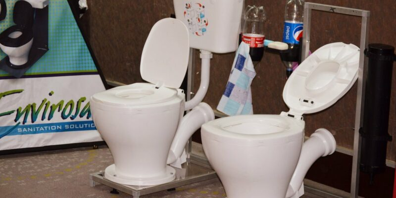 ZIMBABWE: Eaziflush technology to limit open defecation©Envirosan Sanitation Solution