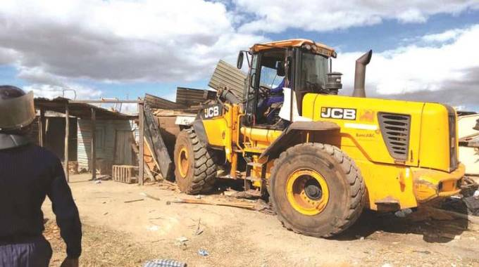 Sanity sets in as demolitions continue