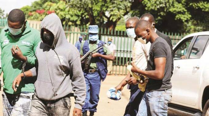 Armed robberies: Cops bare their fangs. . . 477 arrested, jailed this year