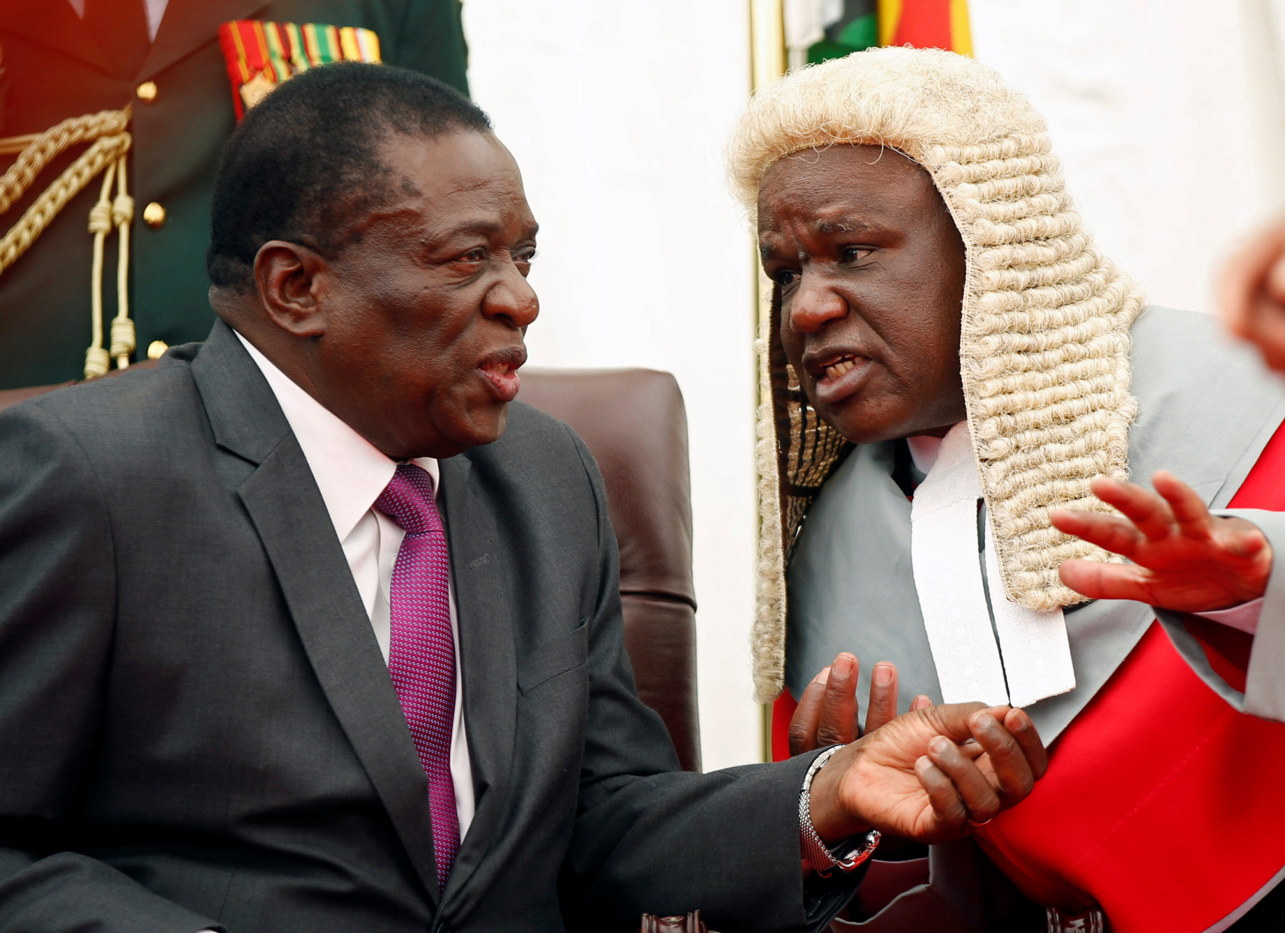 Zimbabwe court upholds chief justice's right to resume work despite age