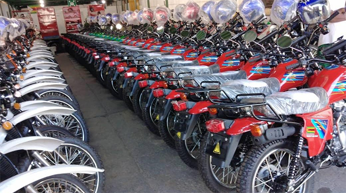 Motorcycles boost for Agritex officers