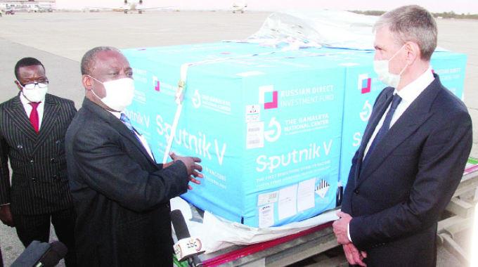 25 000 Sputnik V jabs boost for vaccination