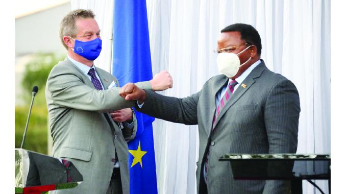 EU acknowledges efforts to stabilise economy