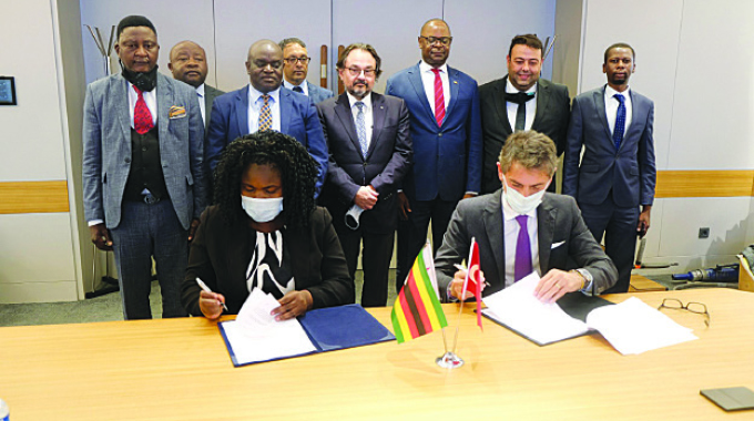 NRZ-Turkish firm ink game-changing deal