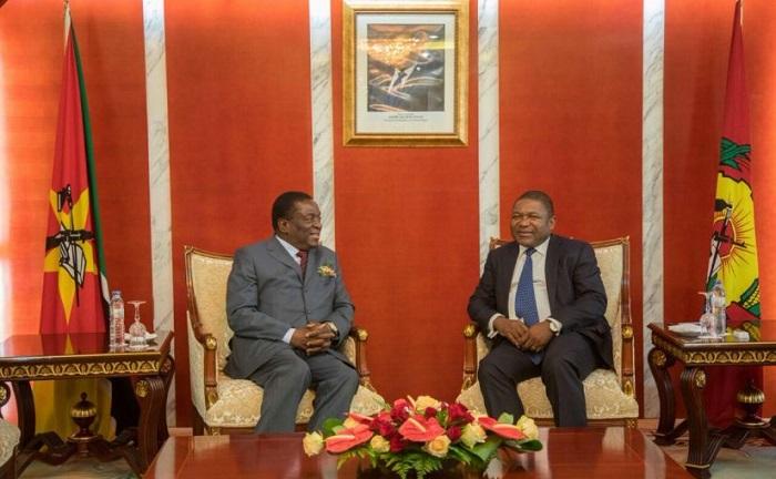nyusi & mnangagwa mozambique