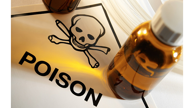 Man consumes poison at ex's residence