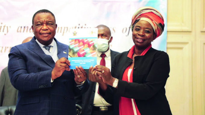 We're ready to back pharmaceuticals — VP