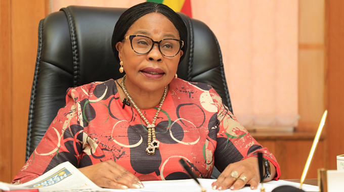 Women should take up leadership positions: Minister Mutsvangwa