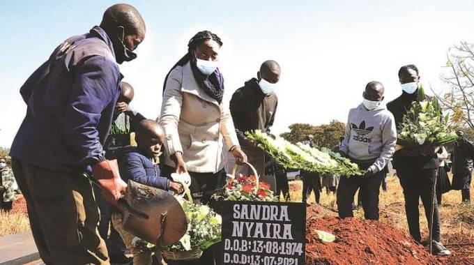 Veteran journalist Nyaira interred
