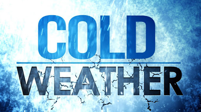 Brace for cold weather until Monday
