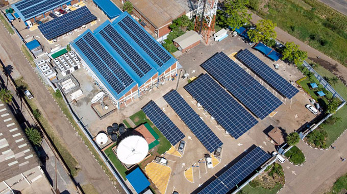 Econet's DPA powers Total service stations with solar