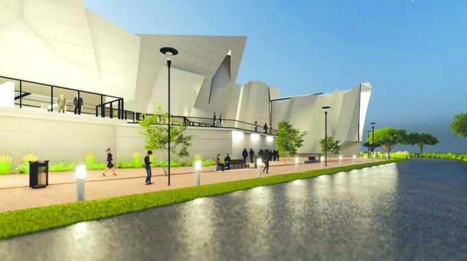 Liberation Museum takes shape