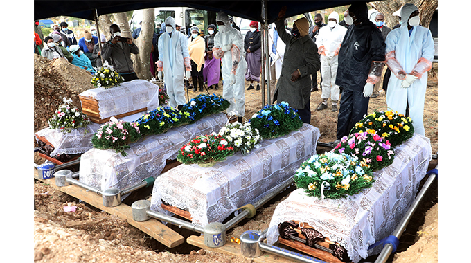 Five family members who died in horror crash buried