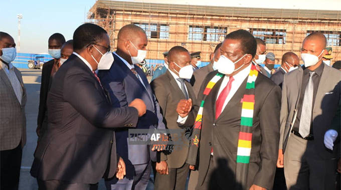 President leaves for Zambia