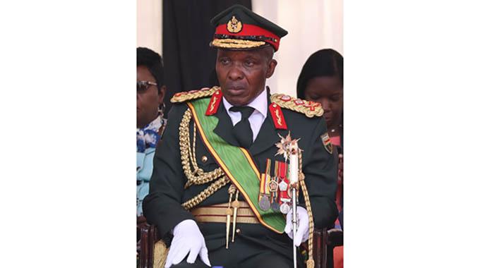 JUST IN: Army Commander Edzai Chimonyo Dies