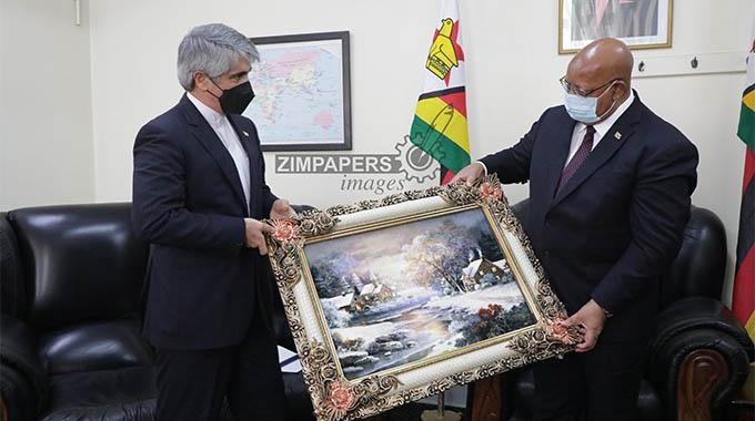 Iran ambassador meets Speaker