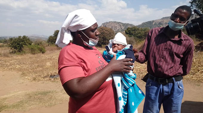 Parents seek help for baby born with no reproductive organ