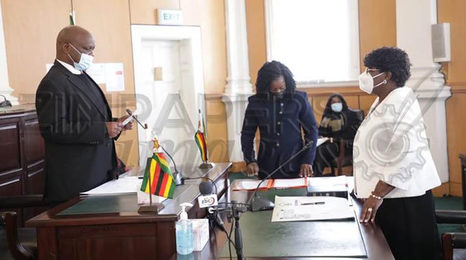New Judge President sworn in
