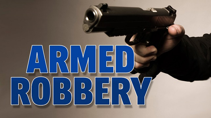 Shots fired as armed robbers pounce again