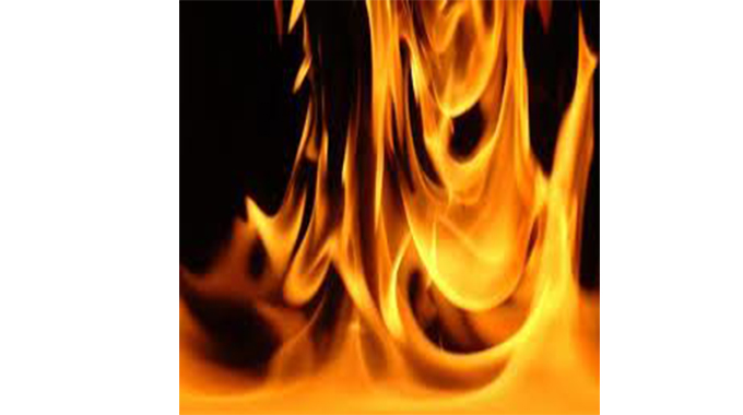 Fire destroys grazing areas in Insiza