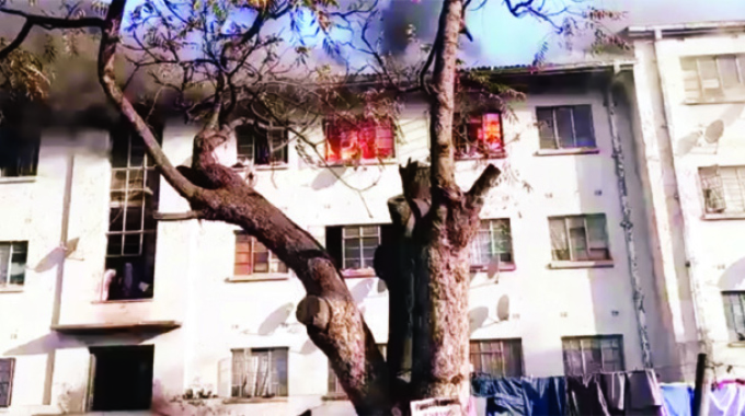Property destroyed as fire guts Mbare flat