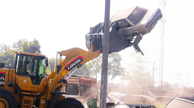 More demolitions target roadside activities