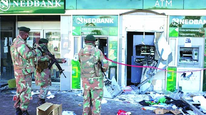 President speaks on SA unrest