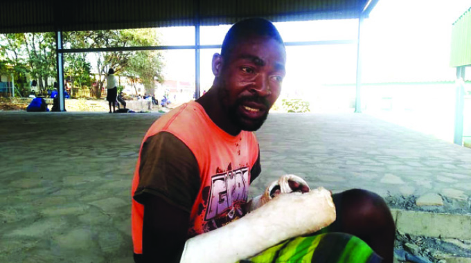 Fisherman relives croc attack